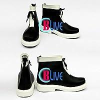●●サイズ選択可●●I0297ZCI コスプレ靴 ブーツ 東方Project 東方香霖堂 霧雨魔理沙 きりさめ まりさ 女性22CM