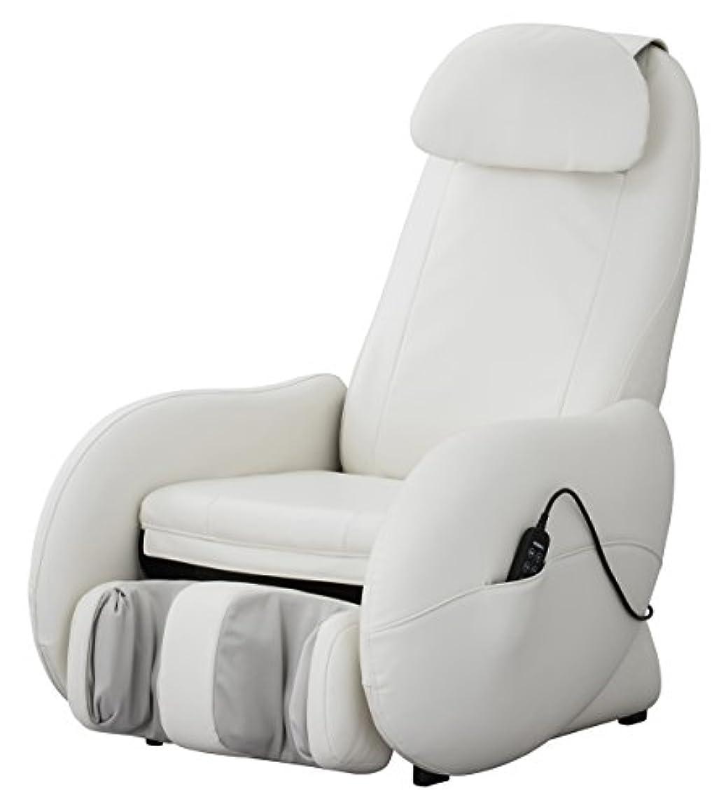冷蔵する定期的にギャンブルスライヴ くつろぎ指定席Light マッサージチェア CHD-3500-WH ホワイト 正規品 おしゃれ コンパクト 小型