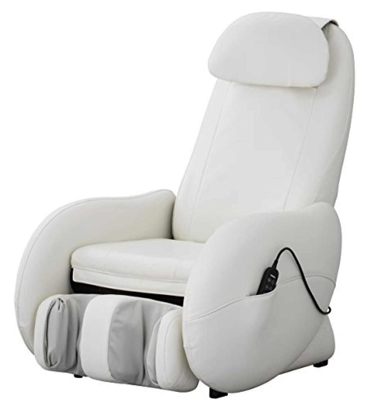 公演タクシー嵐が丘スライヴ くつろぎ指定席Light マッサージチェア CHD-3500-WH ホワイト 正規品 おしゃれ コンパクト 小型
