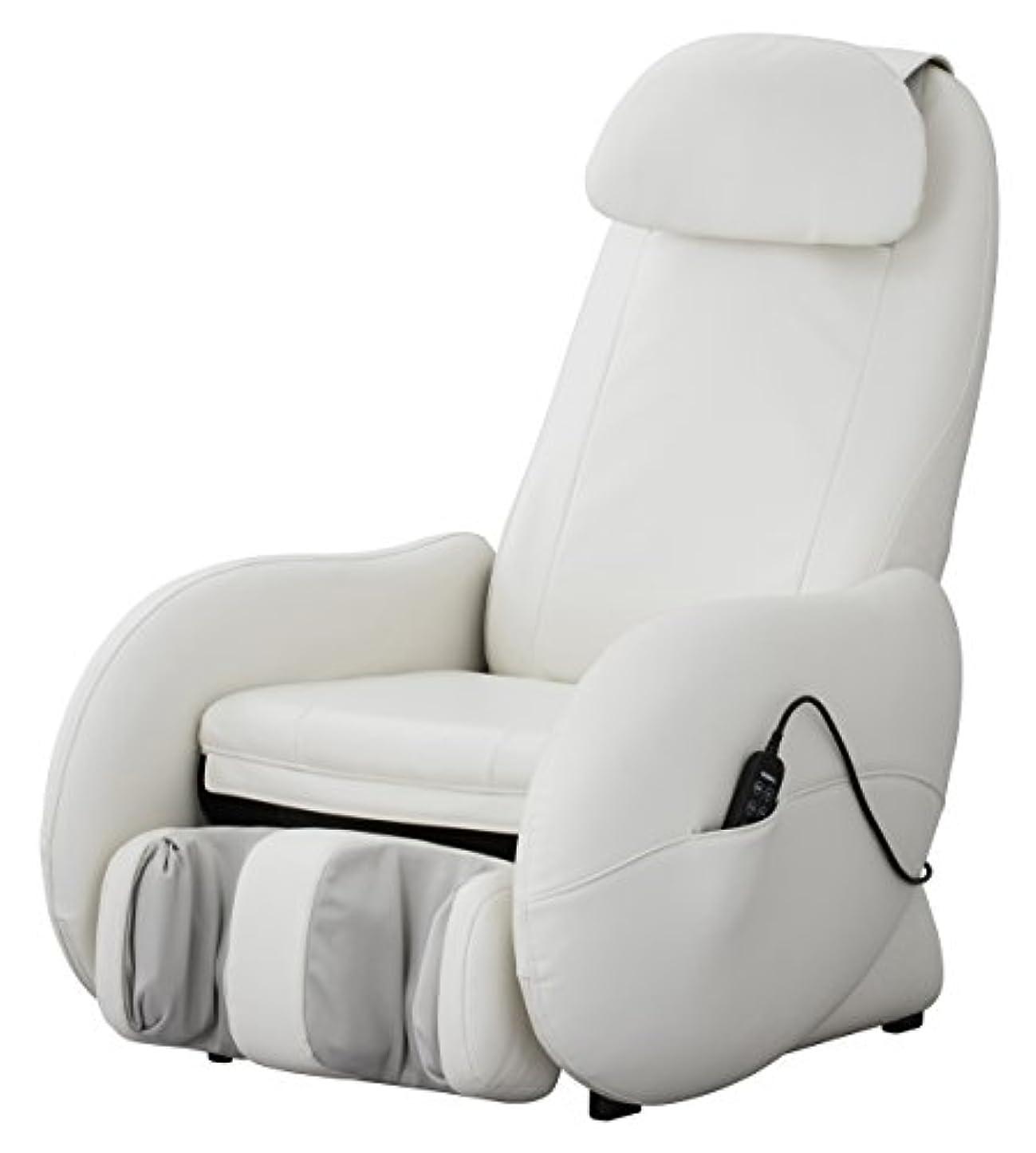 週間予防接種放棄されたスライヴ くつろぎ指定席Light マッサージチェア CHD-3500-WH ホワイト 正規品 おしゃれ コンパクト 小型