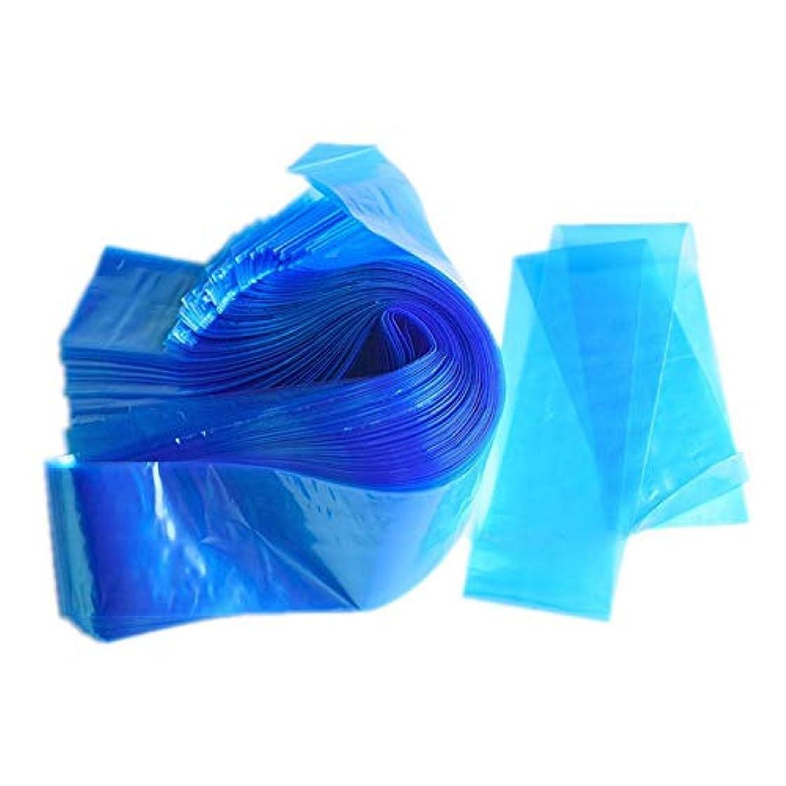 スタイルアカウントトリクルタトゥーマシンカバー、ゴシレ Gosear 100ピース頑丈な使い捨て衛生タトゥークリップコードスリーブカバーバッグ用タトゥーマシンアクセサリー