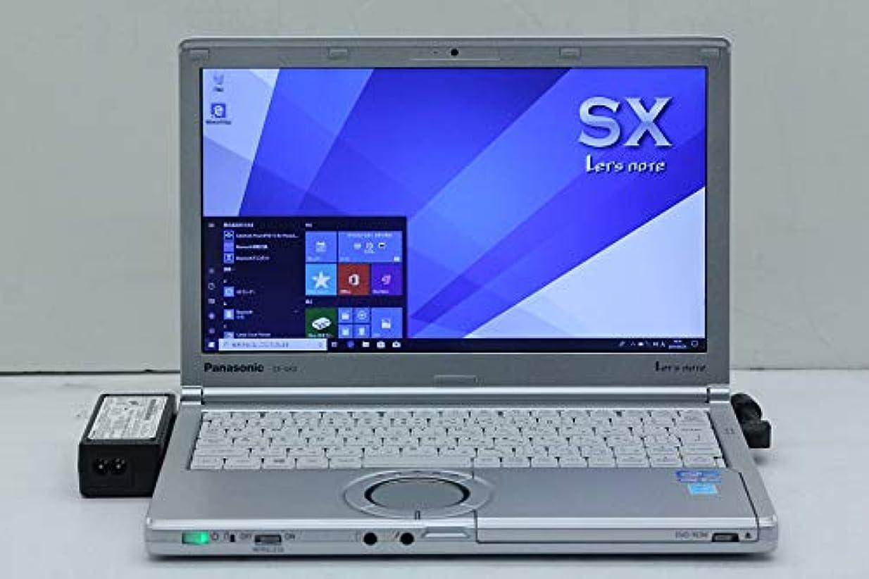 恐怖快い常習的【中古】 Panasonic CF-SX2ADGCS Core i5 3340M 2.7GHz/4GB/120GB(SSD)/DVD/12.1W/WXGA++(1600x900)/Win10