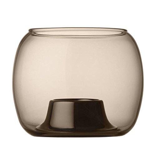 Iittala Kaasa 1016396 ストームランプ ランプ テーブルライト ティーライト ガラス 砂 14 x 11 cm