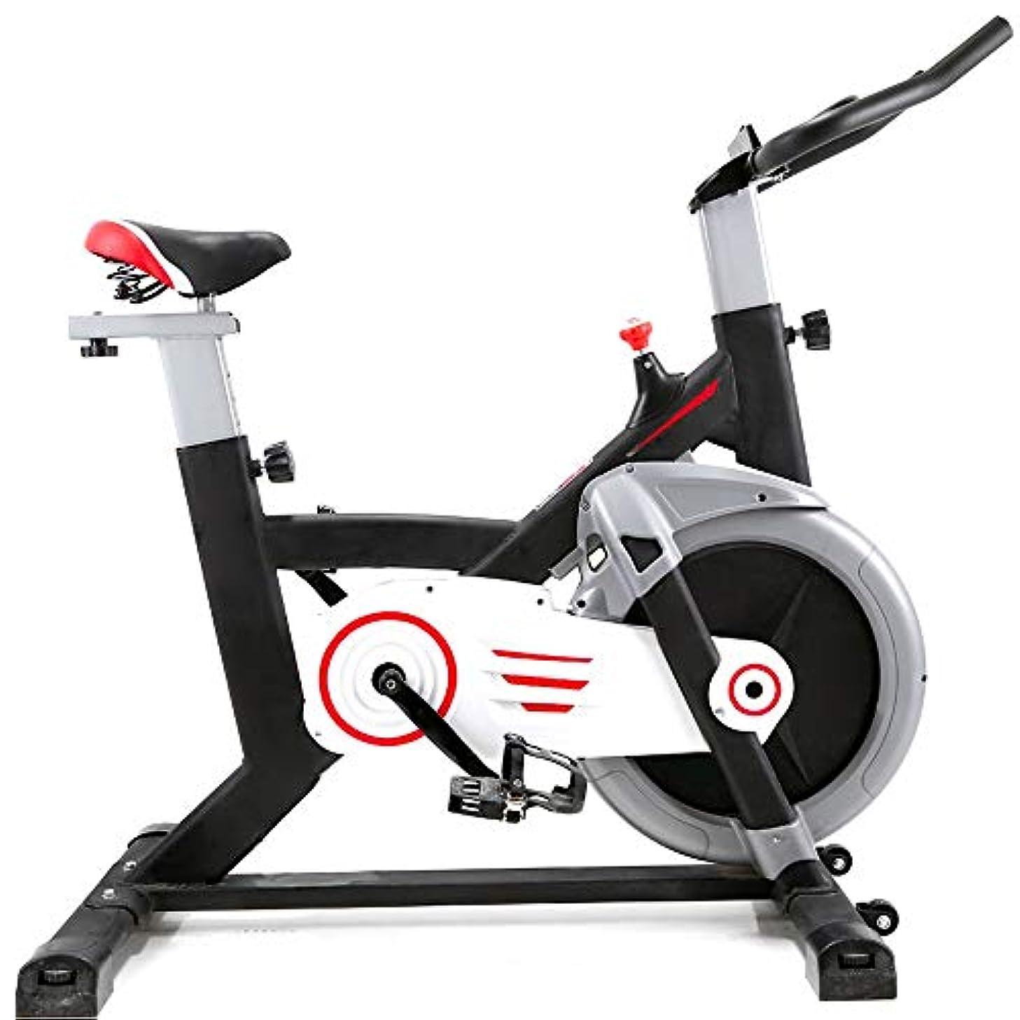 資料休憩するシガレットXIAOYU スピニング超静かな室内エアロバイク、トレッドミル家庭用フィットネス機器 (Color : Black)