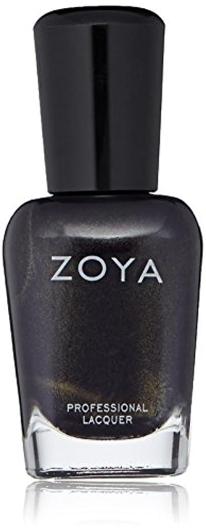自宅で添付プラスチックZOYA ゾーヤ ネイルカラー ZP916 BLAKE ブレイク 15ml パール 爪にやさしいネイルラッカーマニキュア