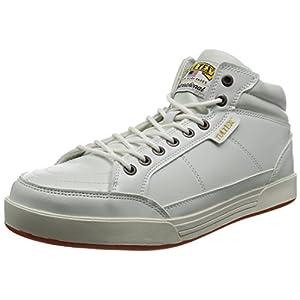 [AITOZ]アイトス 51633_001 26.5cm TULTEX タルテックス セーフティシューズ 作業靴 ミドルカット 鋼製先芯 3E ホワイト