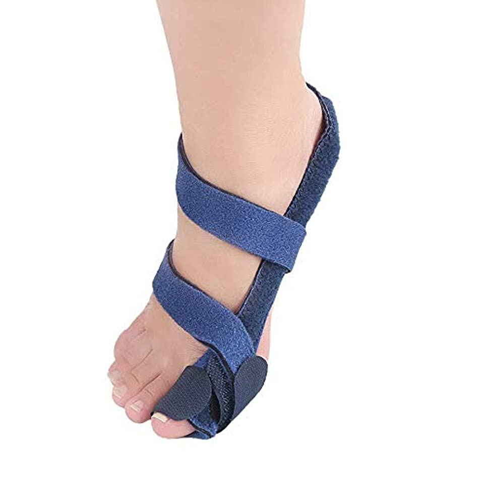 小競り合いメディカル実行外反母Hall装具、オーバーラップハンマーヘッドサポート装具アーチサポートジェルフラット足の痛みの男性と女性,Left Foot