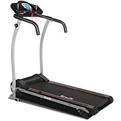 Electric Treadmill Motorised Running Exercise Machine Home Gym Fitness Equipment Everfit Lightweight Folding 1.0HP Motor 12KM/H Speed 12 Training Programs 3 Level Manual Incline LCD Display