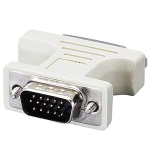 【2004年モデル】ELECOM ディスプレイ変換コネクタ DVI29ピンメス - D-Sub15ピン(ミニ)オス AD-DVFTD15M