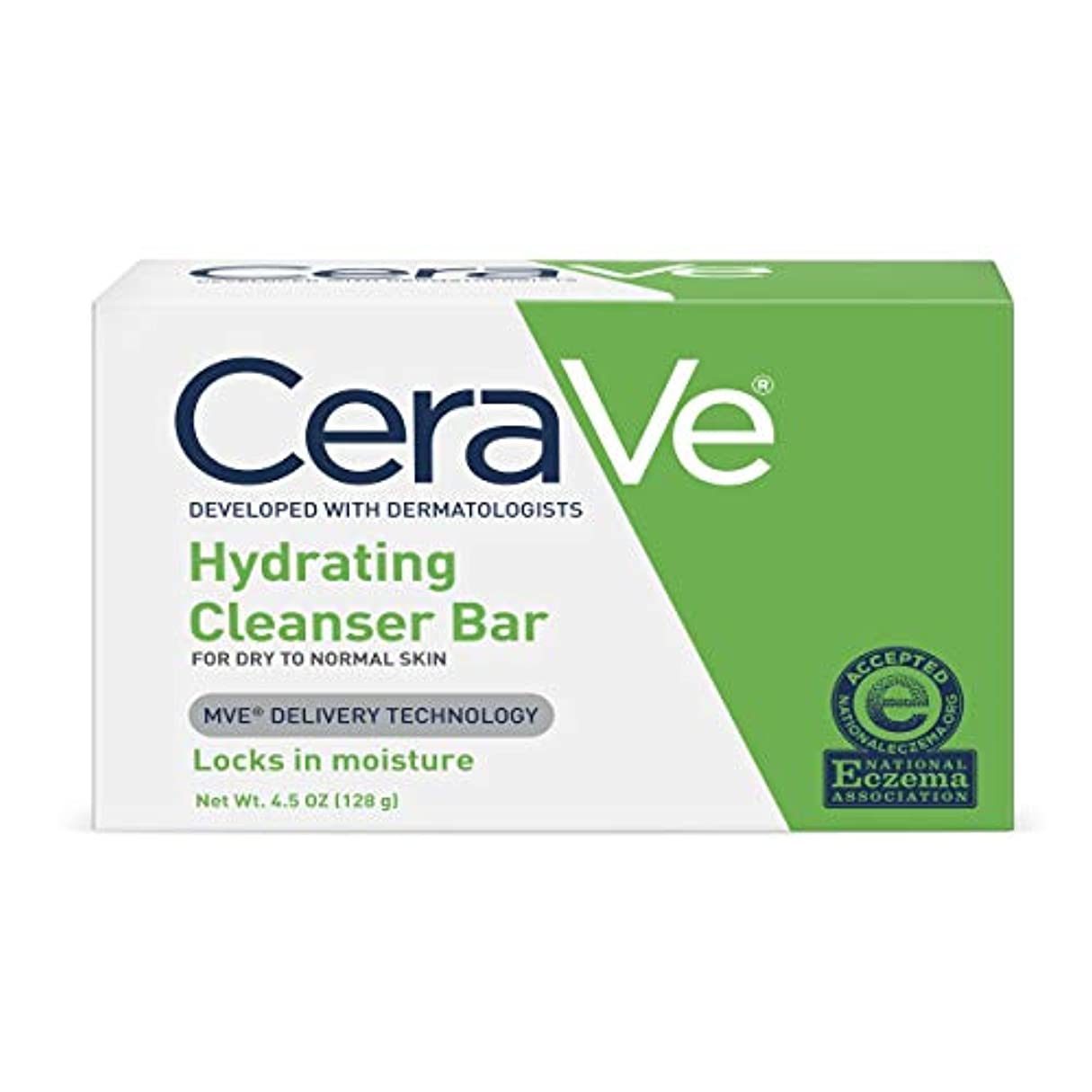 マイコン品バルブCeraVe 正常皮膚とハイドレイティングクレンザーバードライ - 4.5オズ、5パック