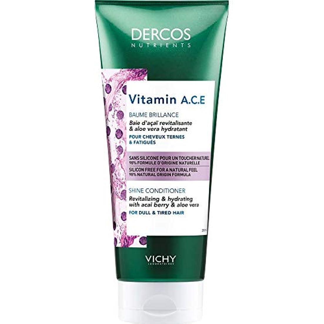 経過害虫省略する[Vichy ] 栄養素のビタミンA.C.E輝きコンディショナー200Ml Dercosヴィシー - Vichy Dercos Nutrients Vitamin A.C.E Shine Conditioner 200ml...