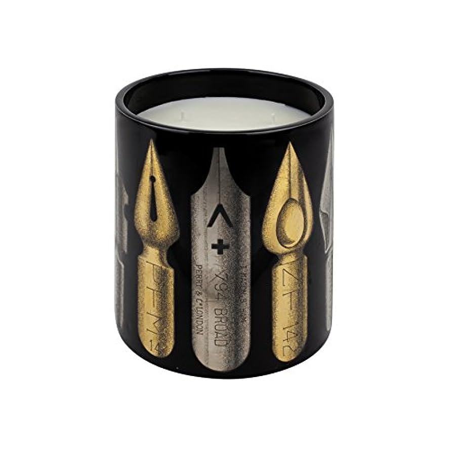 結び目読書電化するFornasetti PENNINI Nero Large Scented Candle、1.9 KG(1900g)