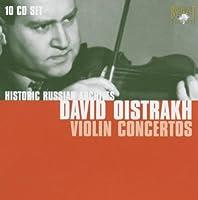 ダヴィッド・オイストラフ ヴァイオリン協奏曲名演奏集(10枚組)/Davio Oistrakh: Violin Comcertos