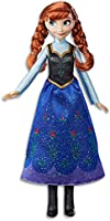 DISNEY FROZEN - Anna Classic Fashion Doll inc Outfit and Shoes - Kids Toys Ages 3+