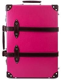 [グローブトロッター]GLOBE TROTTER Special Edtion Candy 21inch Trolly Case Pink/Burgundy [並行輸入品]