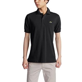 (ラコステ)LACOSTE ラコステ L.12.12 ポロシャツ (無地・半袖) L1212A 031 ブラック 003