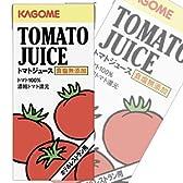 カゴメ 無塩トマトジュース(ホテルレストラン用)1L紙パック×12(6×2)本入