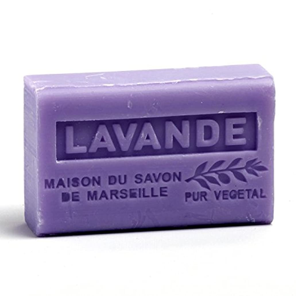 相対的シプリー属性Savon de Marseille Soap Lavender Shea Butter 125g