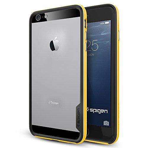 iPhone 6 plus ケース, Spigen® [ スリム バンパー ] ネオ・ハイブリッド EX Apple iPhone (5.5) アイフォン 6 プラス カバー (国内正規品) (レベントン・イエロー 【SGP11060】)