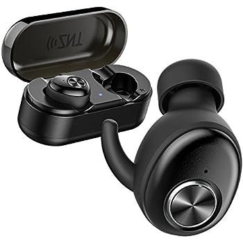 ワイヤレスイヤホン ZNT AirFits I ステレオヘ 完全ワイヤレスイヤホン 自動ペアリング Bluetooth5.0 左右分離型 高音質 Bluetooth イヤホン IPX5 充電ケース付 自動ON/OFF マイク内蔵 …