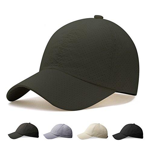 キャップ帽子,Hoomoi 夏 秋 メッシュキャップ 速乾 通気性抜群 男女兼用 メンズ レディース 登山 釣り おしゃれ 野球帽 調節可能 日焼け防止 運 動 紫外線対策 無地 3色選択可能