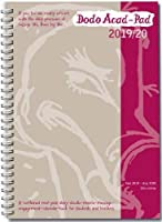 Dodo Acad-Pad A5 Diary 2019-2020 - Mid Year / Academic Year Week to View Diary (Special Purchase): A combined doodle-memo-message-engagement-calendar-organiser-planner for students and teachers (Dodo Pad)