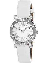 [ティファニー]Tiffany&Co. 腕時計 Atlas ホワイト文字盤  サテンベルト Z1300.11.11A20A41A レディース 【並行輸入品】