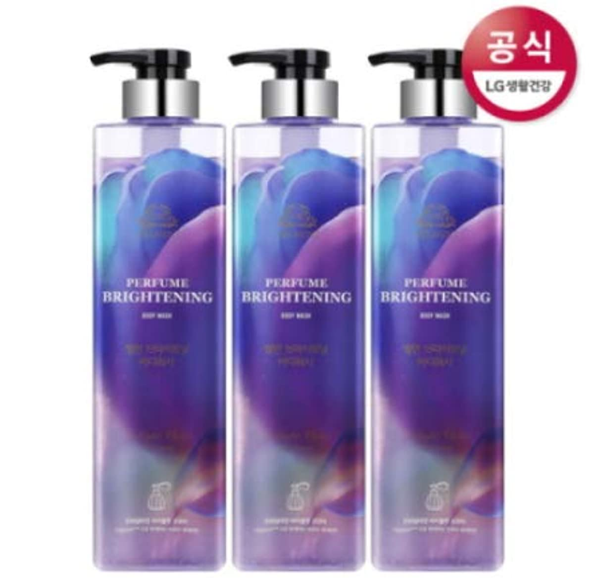 遺跡中で機関[LG HnB] On the Body Belman Perfume Brightening Body Wash / オンザボディベルモンパフュームブライトニングボディウォッシュ680mlx3個(海外直送品)
