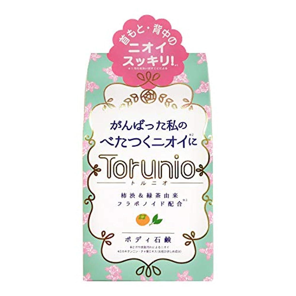 予報の頭の上ギネスTorunio(トルニオ)石鹸 100g