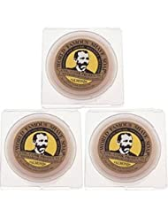 Col. Conk World's Famous Shaving Soap Almond * 3 - Pack * Each Net Weight 2.25 Oz by Colonel Conk [並行輸入品]