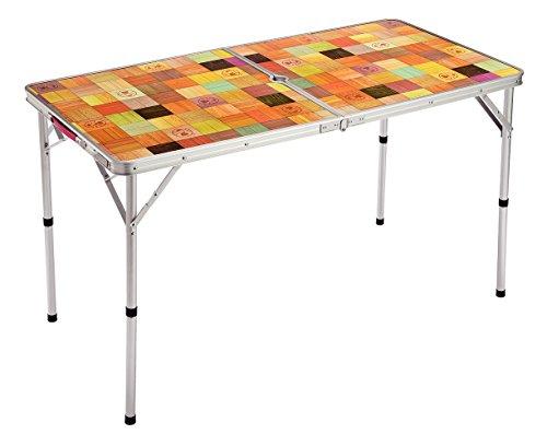 コールマン テーブル ナチュラルモザイクリビングテーブル/120プラス 2000026751