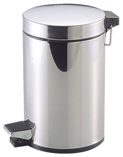 パール金属 ゴミ箱 ふた付き ステンレス ペダル ペール 3L カリス2 H-2283