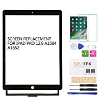 SRJTEK For iPad Pro 12.9 タッチパネル 手書きパネル タッチスクリーン デジタイザ/タッチパネル A1584/A1652
