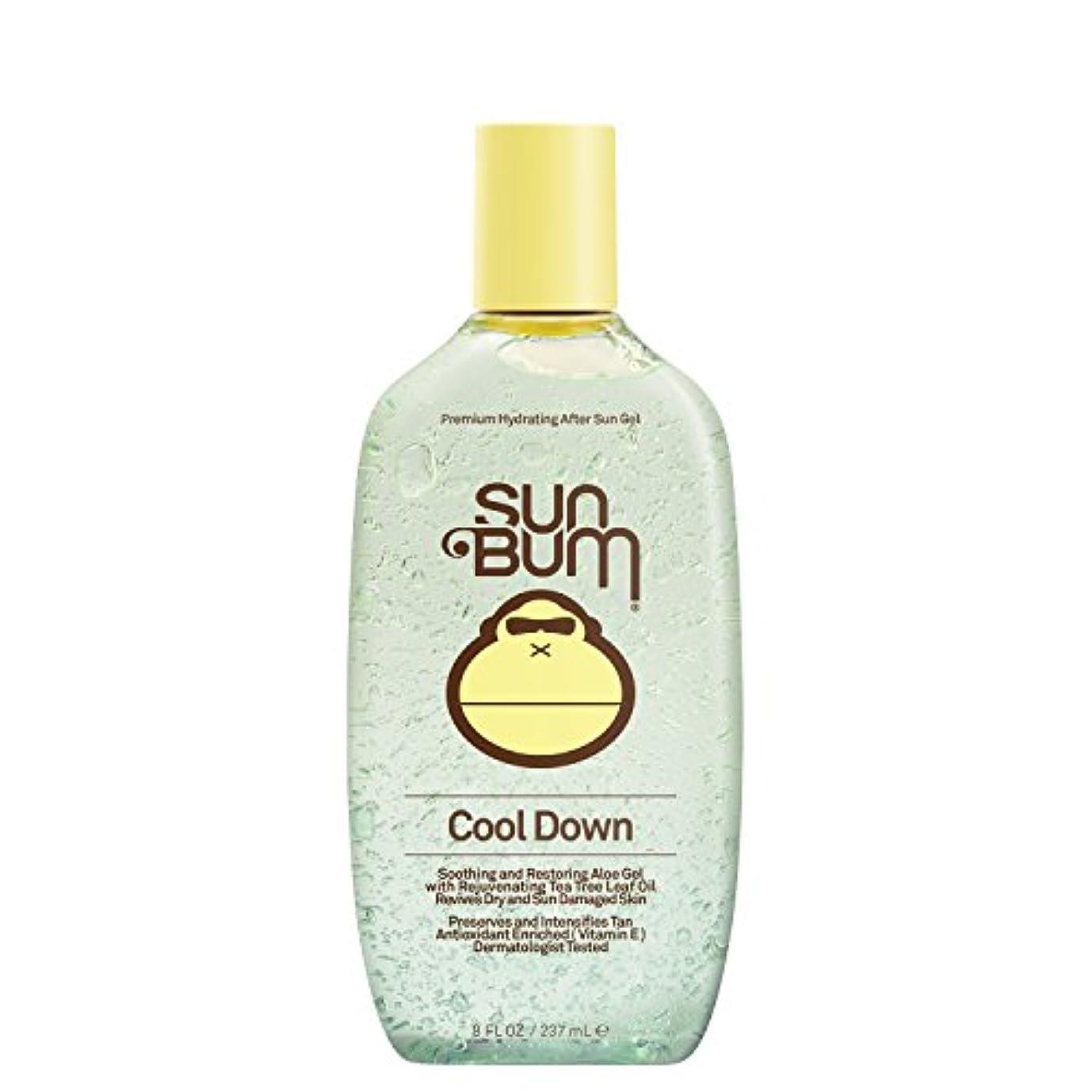 優しさメイト周辺日焼け後に Sun Bum Cool Down Hydrating After Sun Aloe Gel 8ozBottle