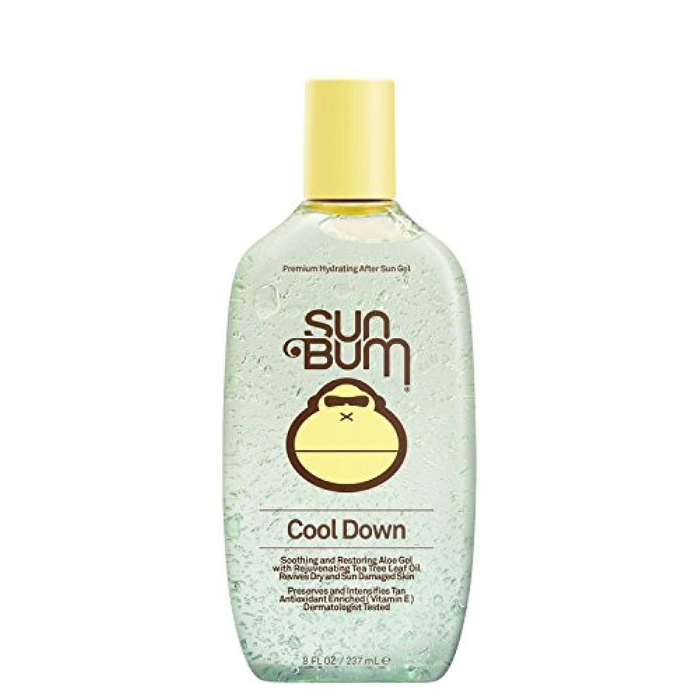 ビデオに向かって肘掛け椅子日焼け後に Sun Bum Cool Down Hydrating After Sun Aloe Gel 8ozBottle