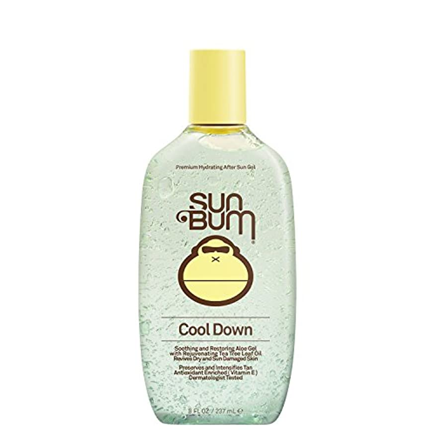 放棄された特異性持っている日焼け後に Sun Bum Cool Down Hydrating After Sun Aloe Gel 8ozBottle