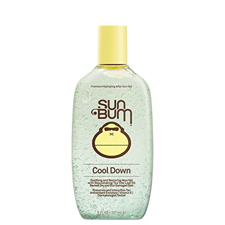 今まで姿勢つま先日焼け後に Sun Bum Cool Down Hydrating After Sun Aloe Gel 8ozBottle