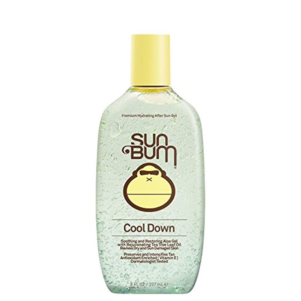 チーフ補足言語日焼け後に Sun Bum Cool Down Hydrating After Sun Aloe Gel 8ozBottle