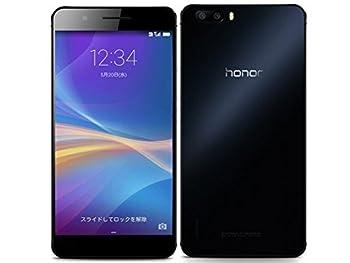 honor6 Plus ブラック