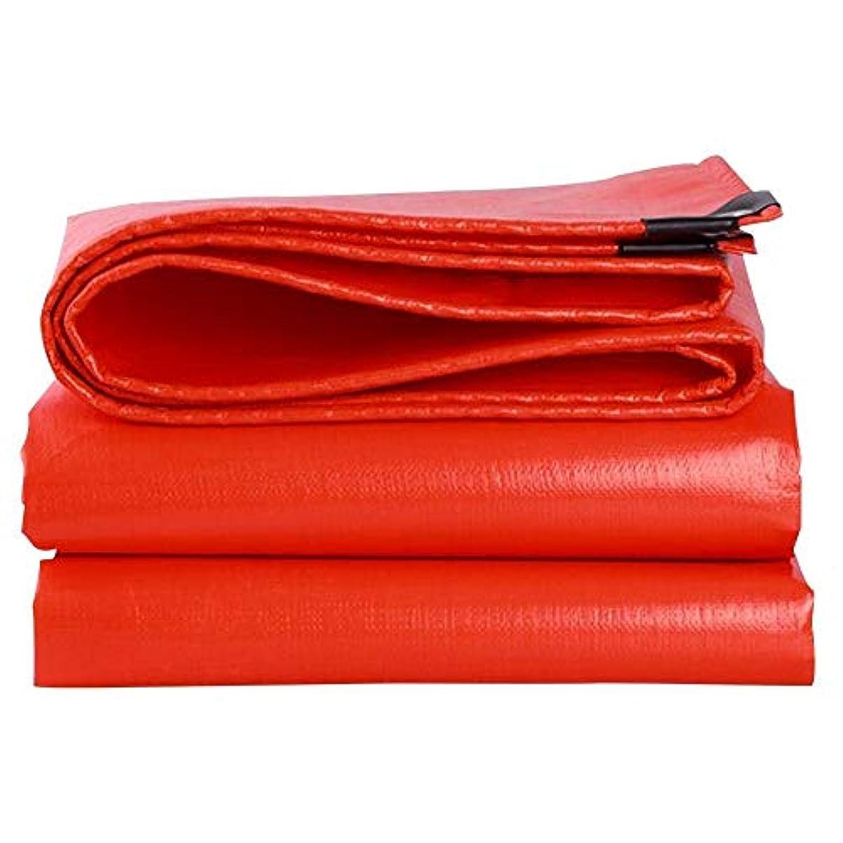 特別なバクテリアフルート12J-weihuiwangluo ターニング防水ターポリンターポリン日焼け止めターポリン超軽量三輪車トラックターポリンターポリンオーニング (Color : 赤, サイズ : 3 x 3m)