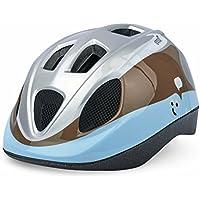 Polisport(ポリスポート) Guppy BABY HELMET (グッピー ベビーヘルメット) XS (子供用ヘルメット) 8739300001 BLUE/BROWN (ブルー/ブラウン) 48 - 52cm