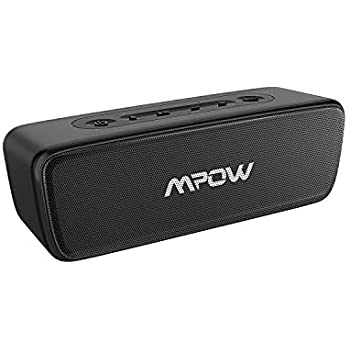 Mpow Soundhot R6 bluetoothスピーカー IPX7完全防水防塵 TWS二台接続可能 16W出力 24時間連続再生 30m長距離転送 通話可能 skype対応 ワイヤレススピーカー ポータブルスピーカー 防水スピーカー ブルートゥーススピーカー 黒