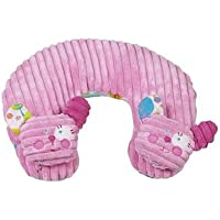 Maison Chic Travel Pillow, Girl Bear (Discontinued by Manufacturer) by Maison Chic
