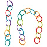 MagiDeal 24Pcs Plastic Handmade Baby Teething Ring Chewie Teether Sensory Toy Gift