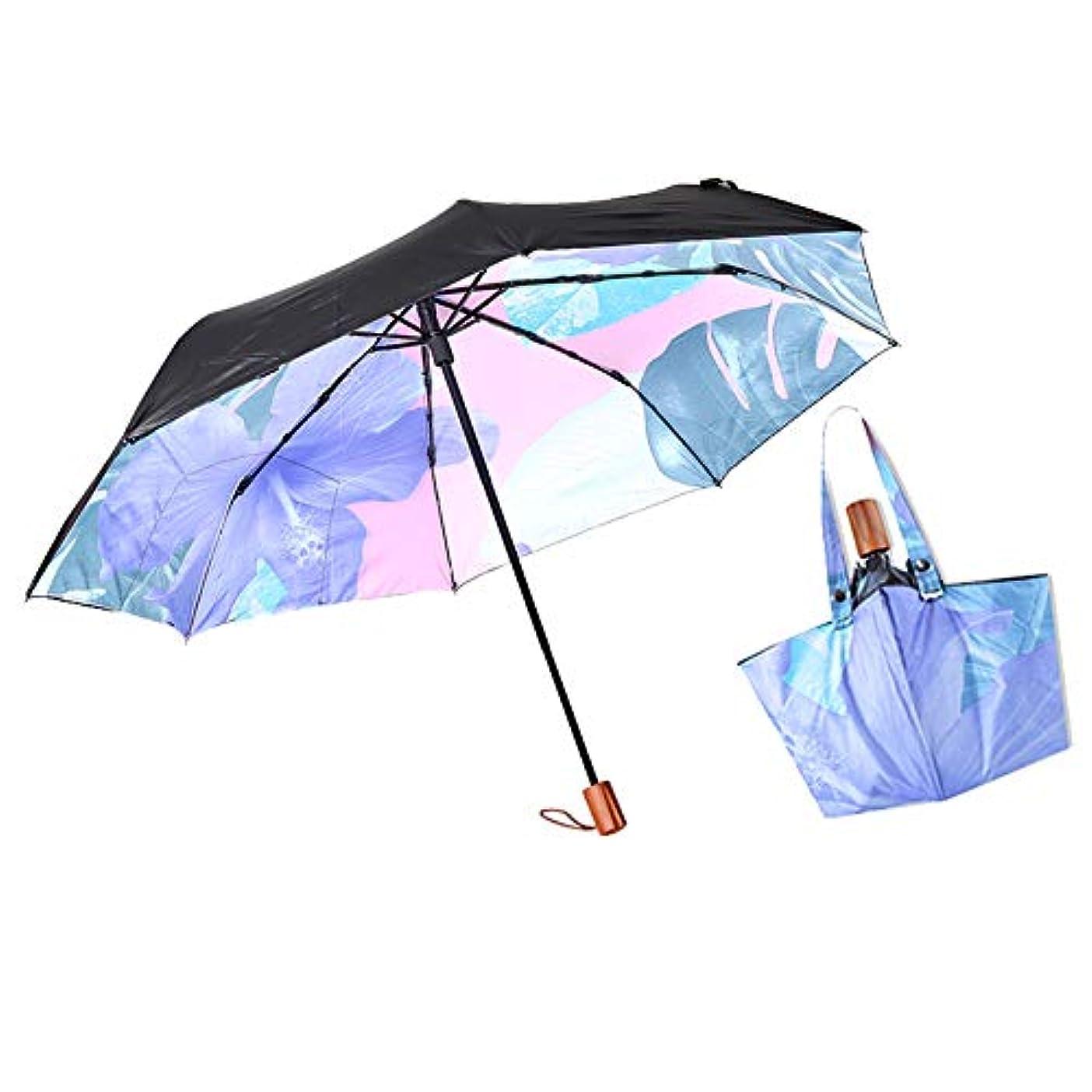 困った横にそっとYAOAWE 折りたたみ傘 女性の傘 収納ポーチ付き雨傘 高強度 日傘 梅雨対策 防災対策 8本骨軽量 便利である 袋の傘 晴雨兼用