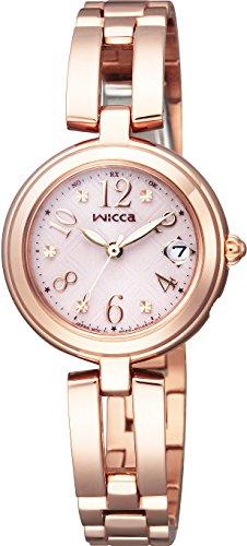 [シチズン]CITIZEN 腕時計 wicca ウィッカ ソーラーテック電波時計 ハッピーダイアリー KL0-260-91 レディース
