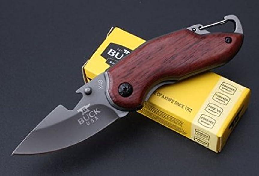 コーン他の場所処方ヴァイキング ウェンジ Wenge 折りたたみナイフ 直刃