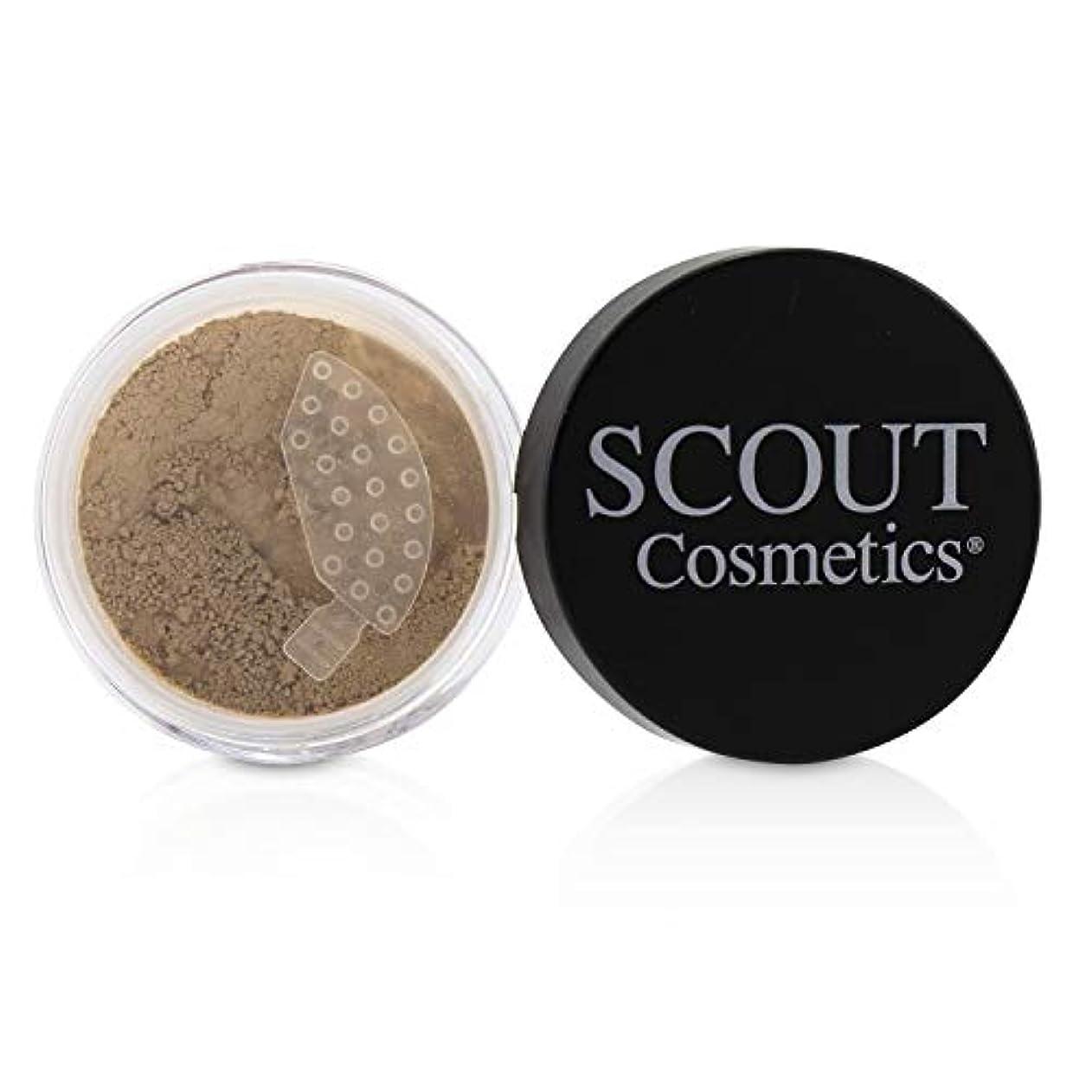 棚速報飽和するSCOUT Cosmetics Mineral Powder Foundation SPF 20 - # Shell 8g/0.28oz並行輸入品