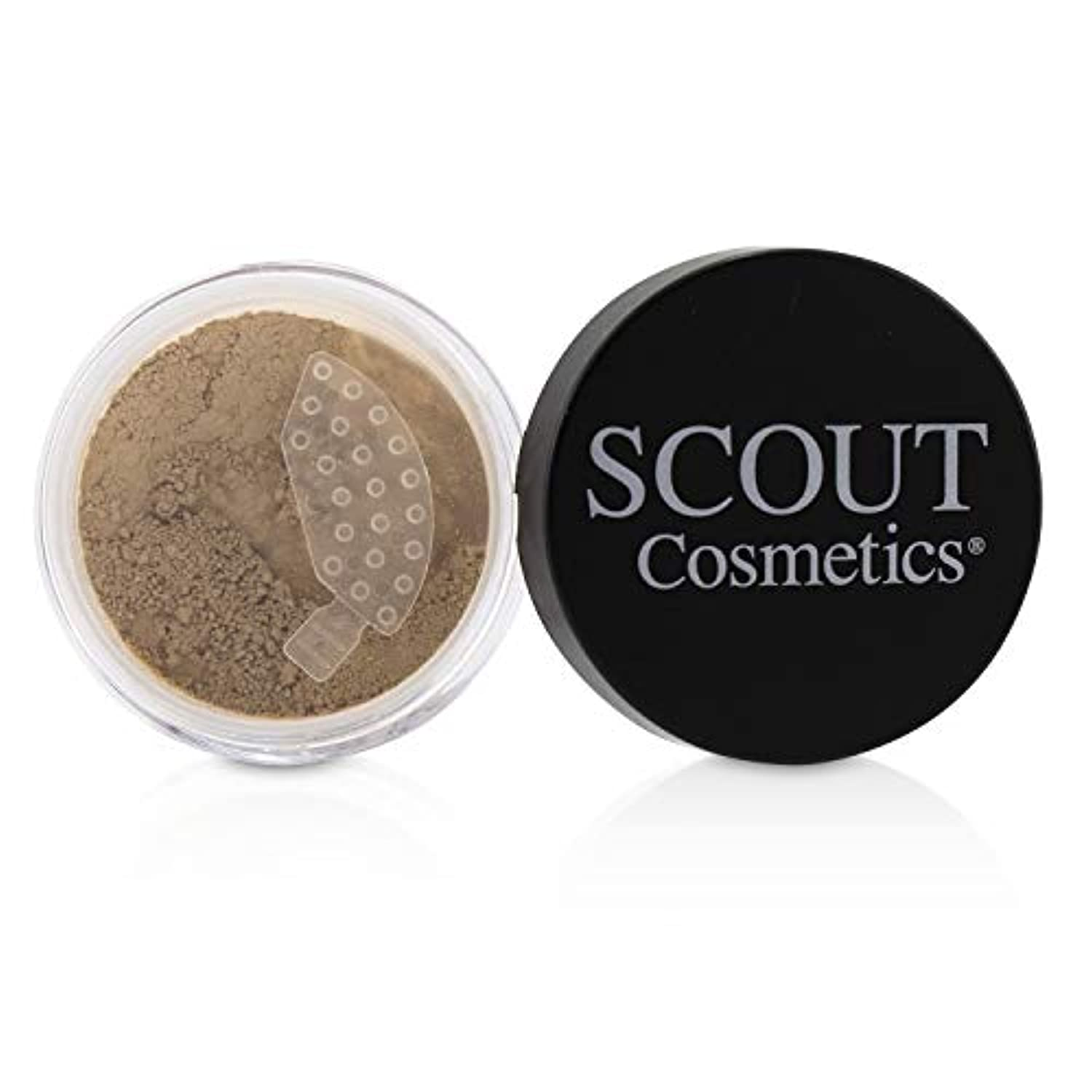 姓耐えられるフレッシュSCOUT Cosmetics Mineral Powder Foundation SPF 20 - # Shell 8g/0.28oz並行輸入品