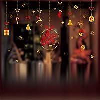 クリスマスの窓のステッカー 窓装飾 DIYの窓のステッカー 装飾的なステッカー ウォールステッカー クリスマス雑貨 、 選択する20つのパターン